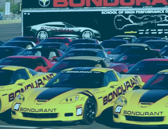 Corvettes@Bondurant with Johnny O'Connell
