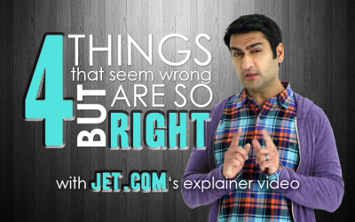 4 Things That Seem Wrong But Are So Right With Jet.com's Explainer Video